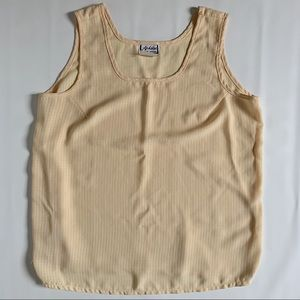 Vintage Ardoise textured tank top